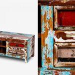 TV-тумба Antique Wood TV  - фото 2
