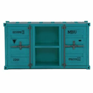 ТВ тумба Loft TV container turquoise