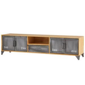 ТВ-тумба Loft Metal and Wood Quadruple