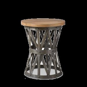 Журнальный стол Industrial Rust Barrel 40 Table