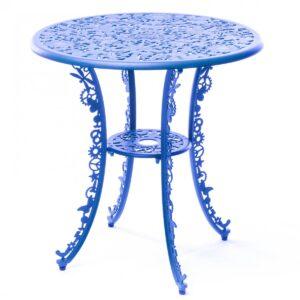 Обеденный стол Seletti Industry Collection ALUMINIUM TABLE – SKY BLUE