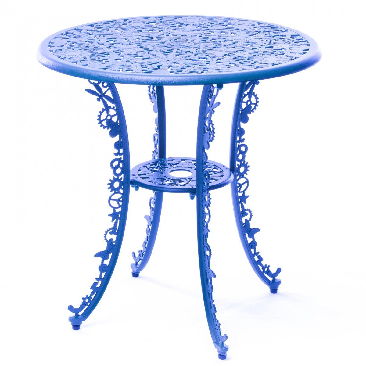 Обеденный стол Seletti Industry Collection ALUMINIUM TABLE – SKY BLUE  - фото 1