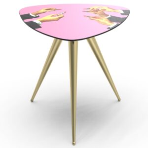 Журнальный стол Seletti Side Table Pink Lipsticks