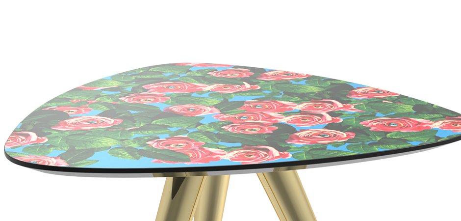 Журнальный стол Seletti Side Table Roses  - фото 2