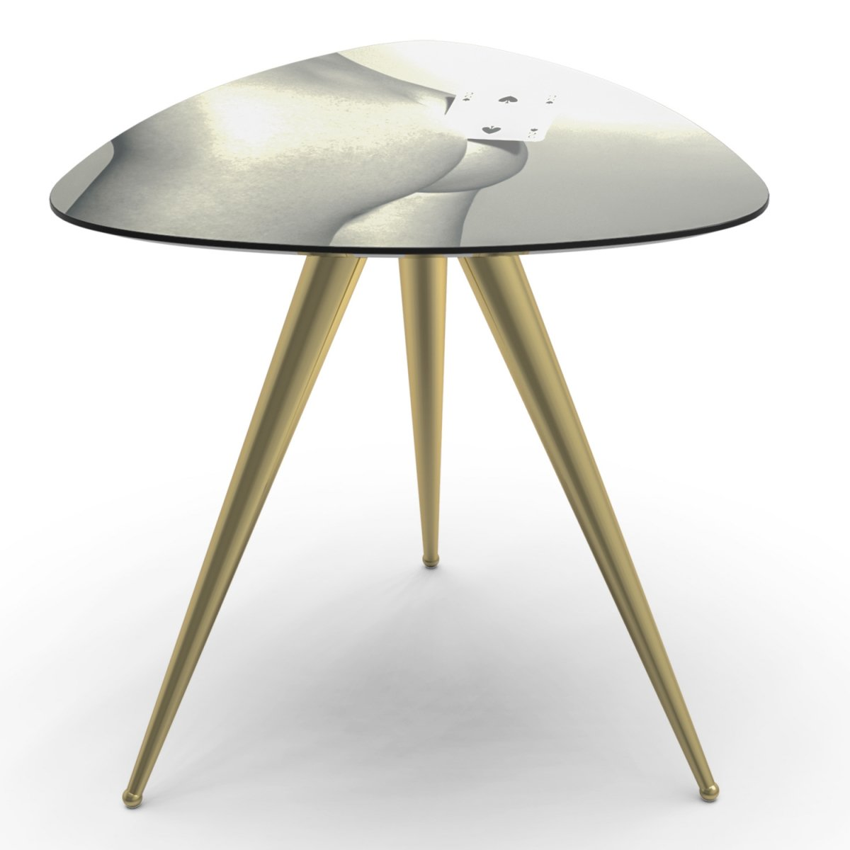 Журнальный стол Seletti Side Table Two of Spades  - фото 1