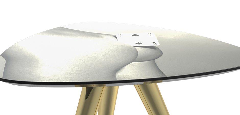 Журнальный стол Seletti Side Table Two of Spades  - фото 2