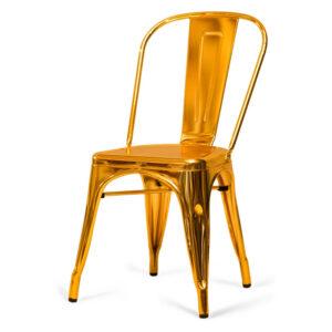 Золотой стул Tolix Gold