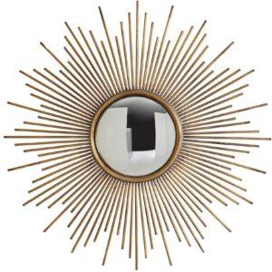 Настенное круглое зеркало в раме «Брук»