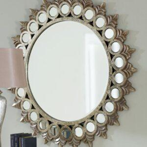 Круглое зеркало в раме «Седрик»