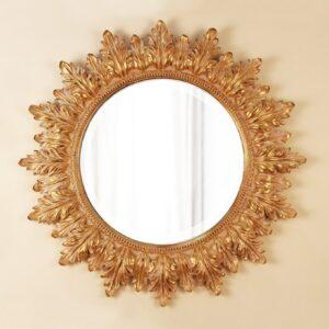 Настенное зеркало в круглой раме «Альба»