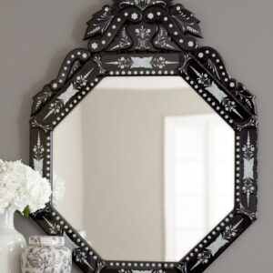Венецианское зеркало «Кастелло нуар»