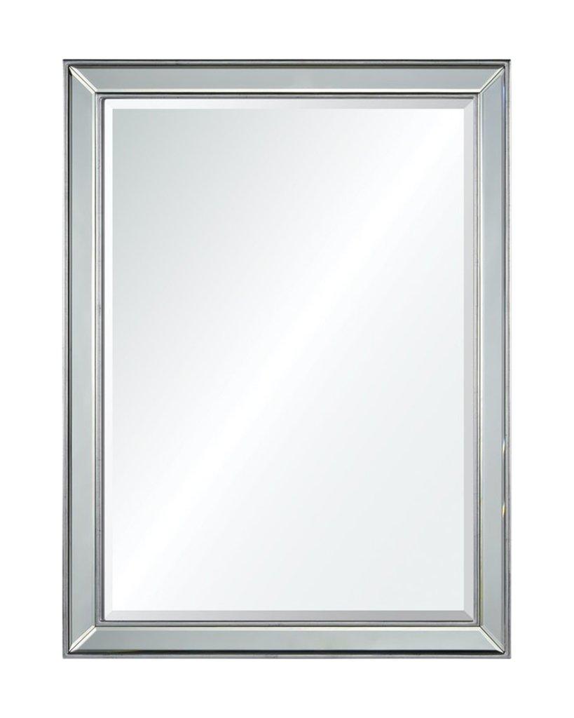 Зеркало в серебряной раме