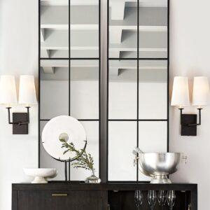 Зеркало в форме окна