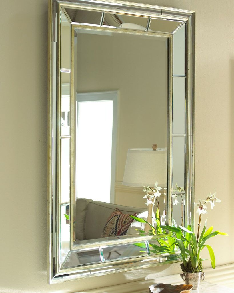 Зеркало с двойной рамой