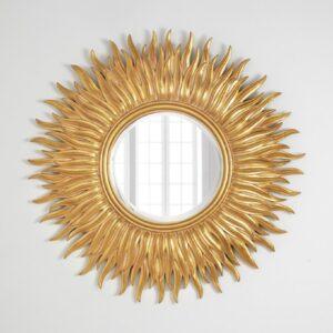 Зеркало в золотой раме «Фелиция»