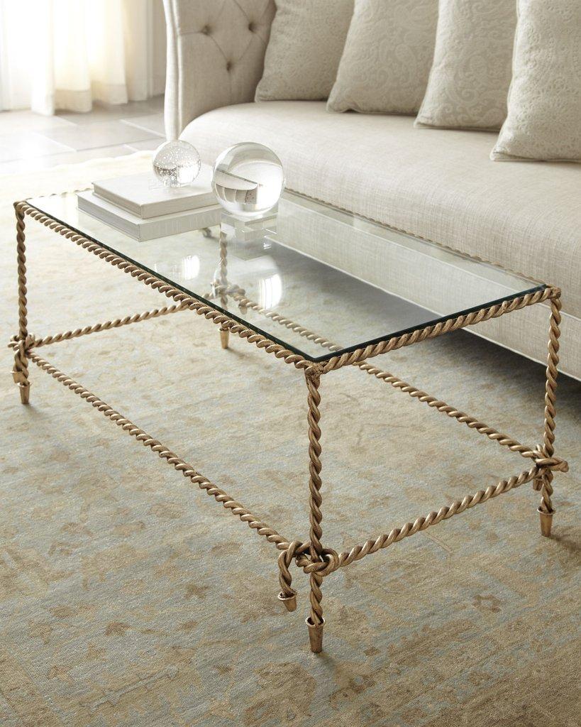 Прямоугольный кофейный стол