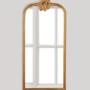 Золотое напольное зеркало «Кайли»