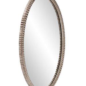 Овальное серебряное зеркало «Джанет»