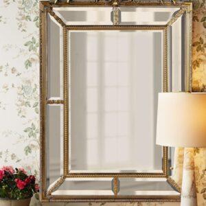 Зеркало в золотой раме «Ланкастер»