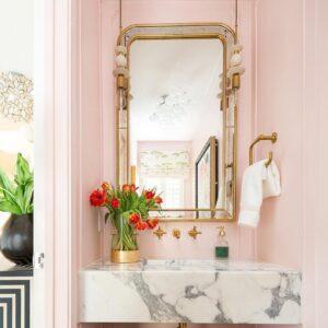Настенное зеркало в арочной раме «Гийом»