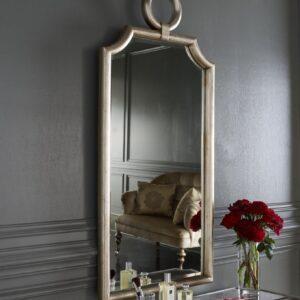 Зеркало в серебряной раме «Пьемонт»