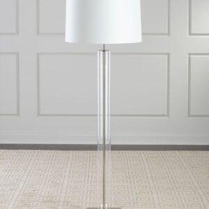 Серебряная напольная лампа «Томас»