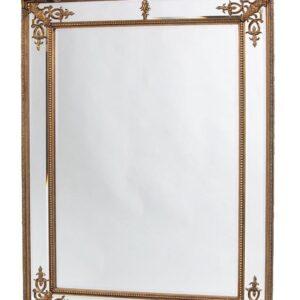 Золотое напольное зеркало «Дилан»