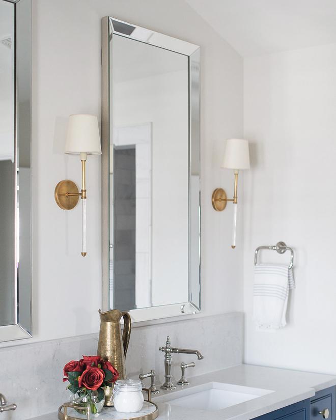 Зеркало с зеркальной рамой