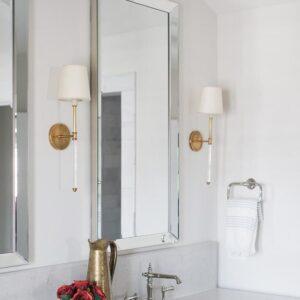 Зеркало с зеркальной рамой «Ронда»