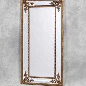 Золотое напольное зеркало «Венето»
