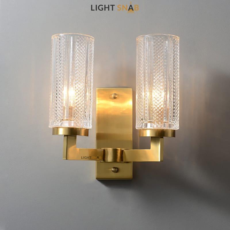 Настенный светильник Adeleine Wall 2 лампы