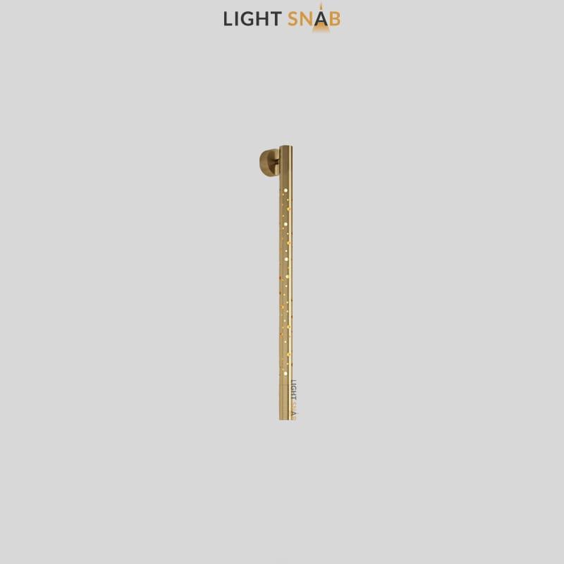 Настенный светильник Aleksa Wall размер M цвет латунь