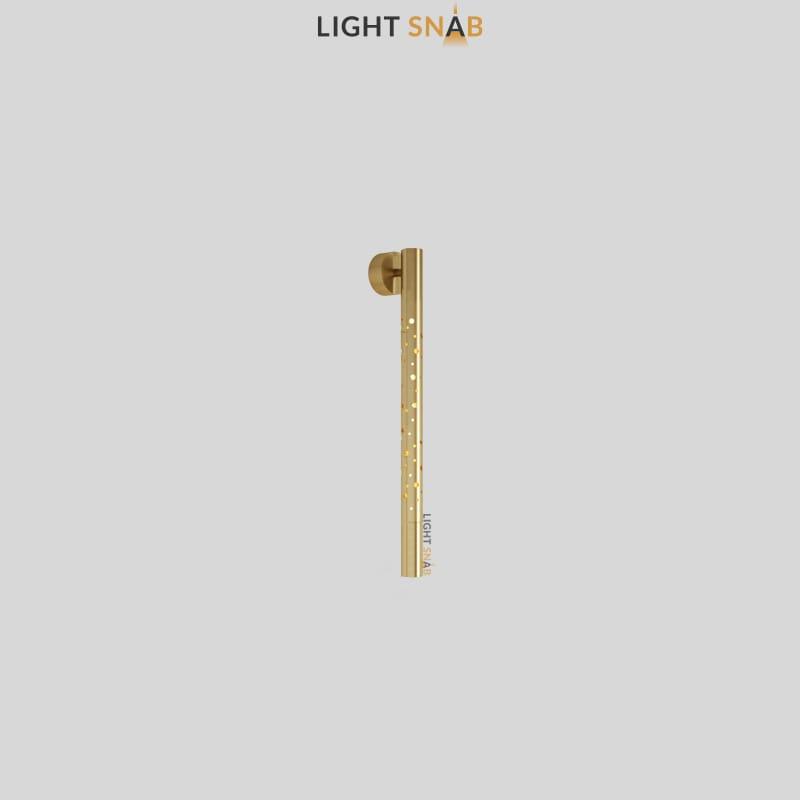 Настенный светильник Aleksa Wall размер S цвет латунь
