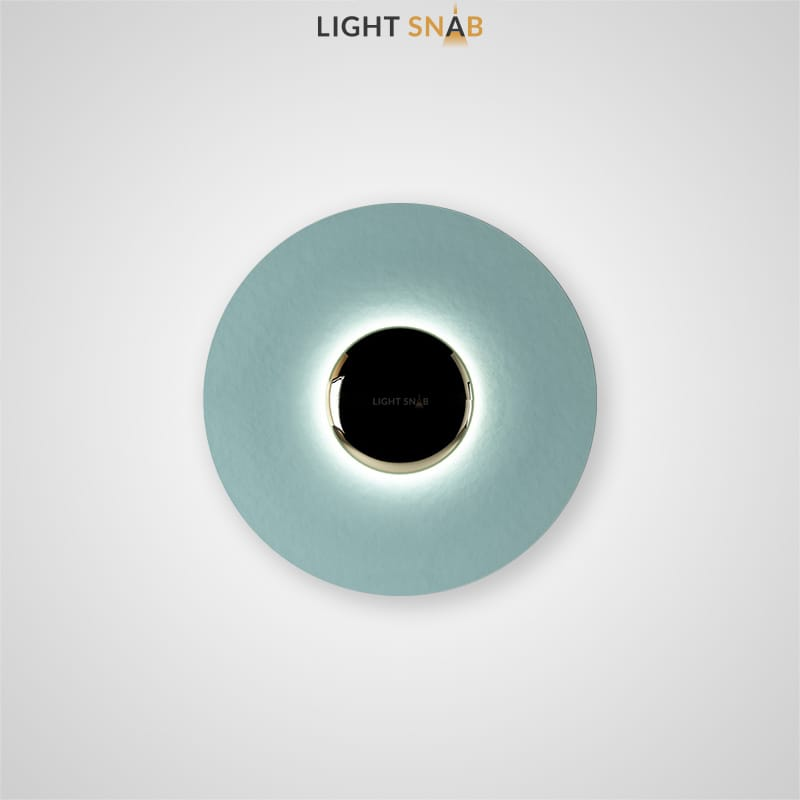 Настенный светодиодный светильник Alesta размер цвет голубой