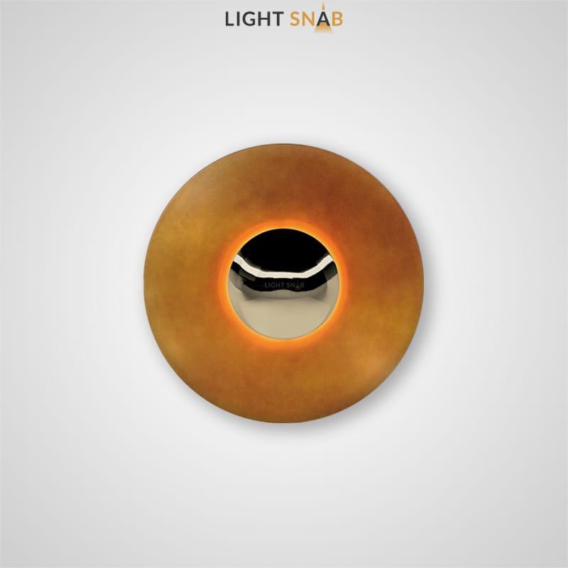Настенный светодиодный светильник Alesta размер цвет оранжевый