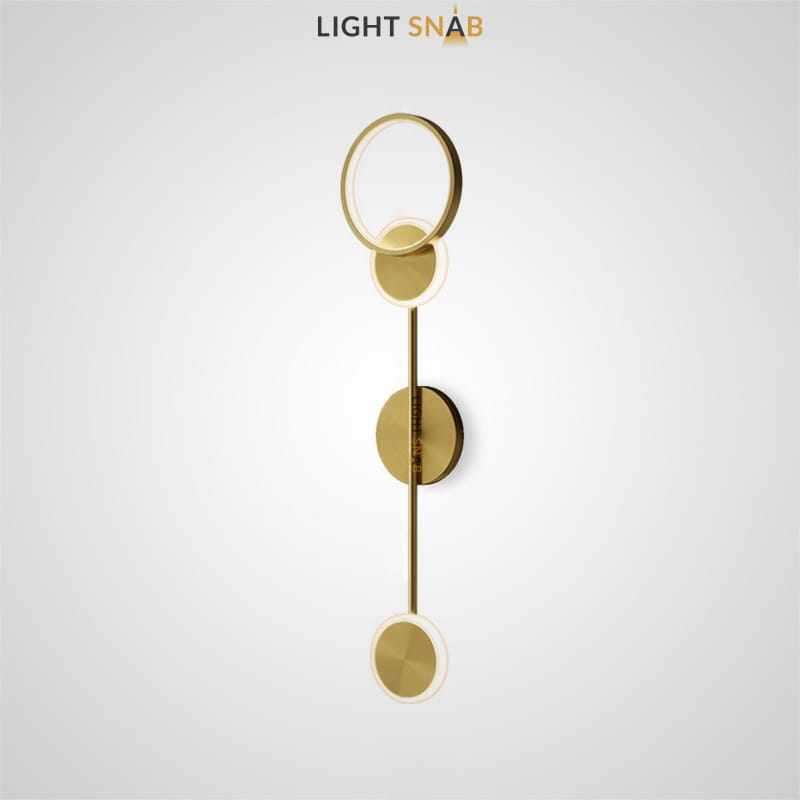 Настенный светильник Amber цвет золото