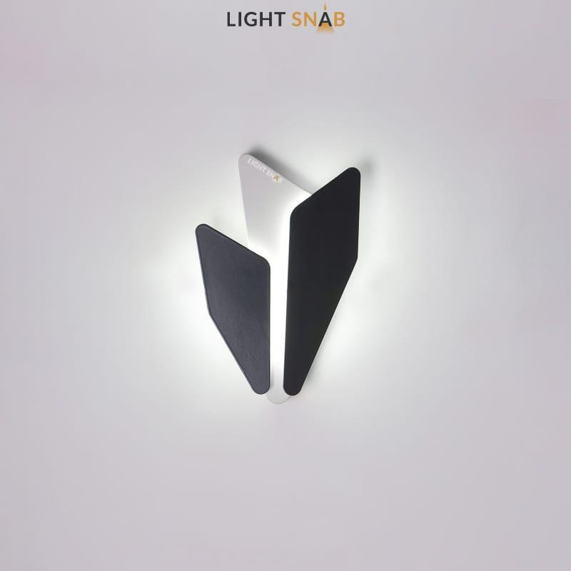 Дизайнерский настенный светильник Antlers белый свет