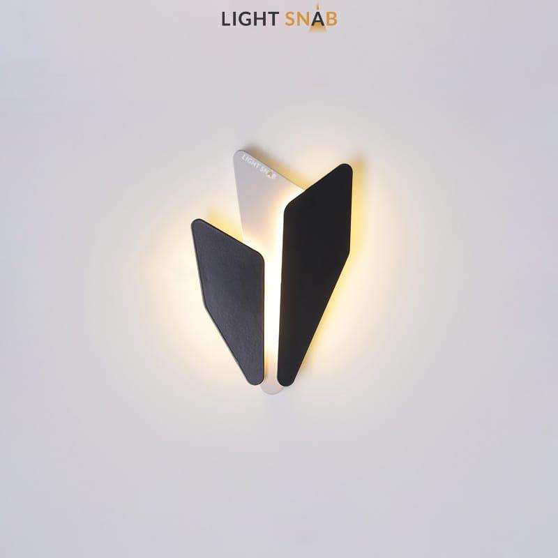 Дизайнерский настенный светильник Antlers теплый свет