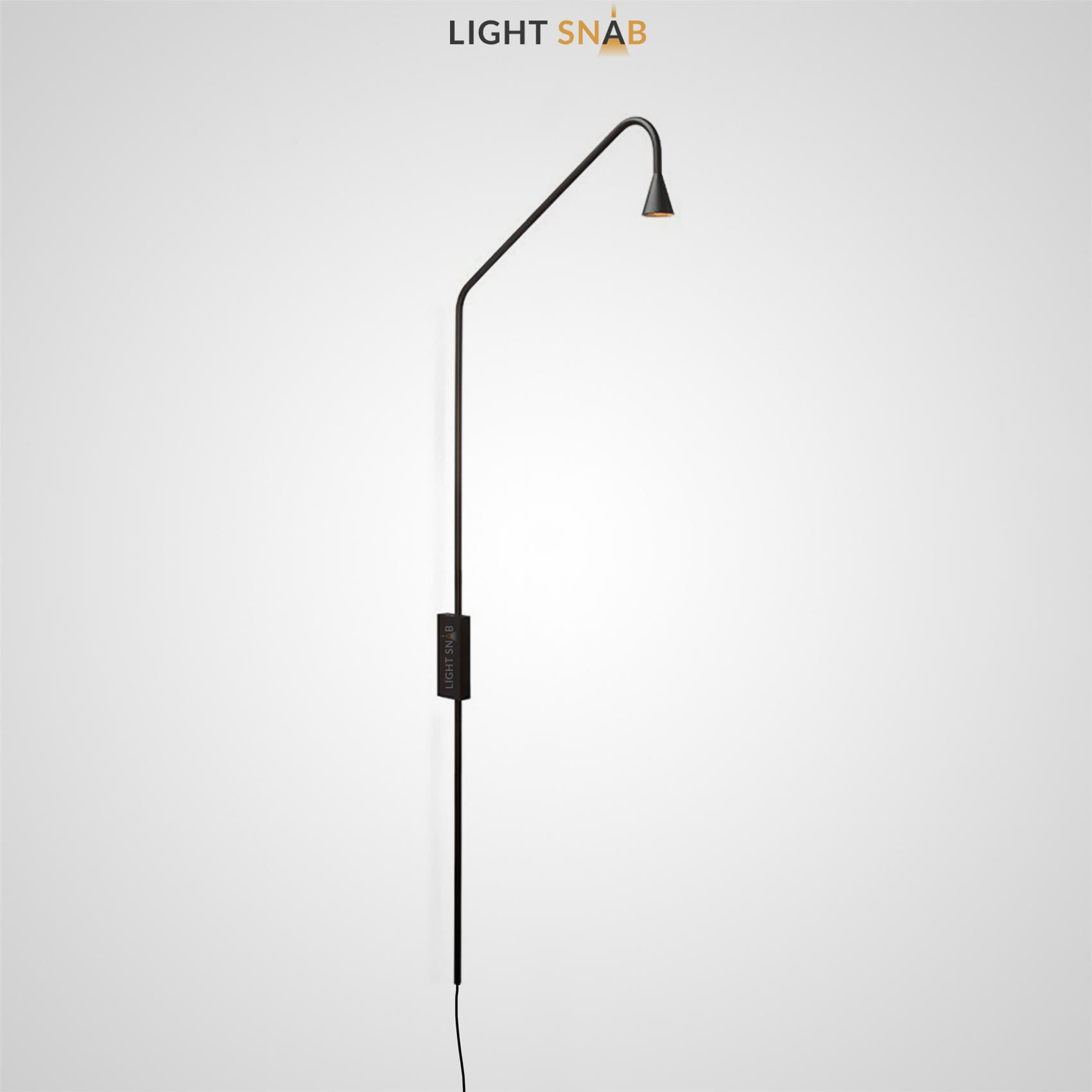 Настенный светодиодный светильник Arend цвет черный