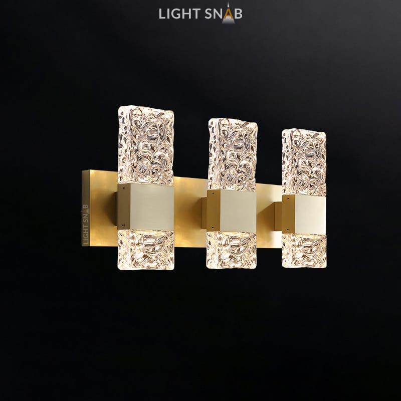 Настенный светильник Arimo Wall 3 лампы