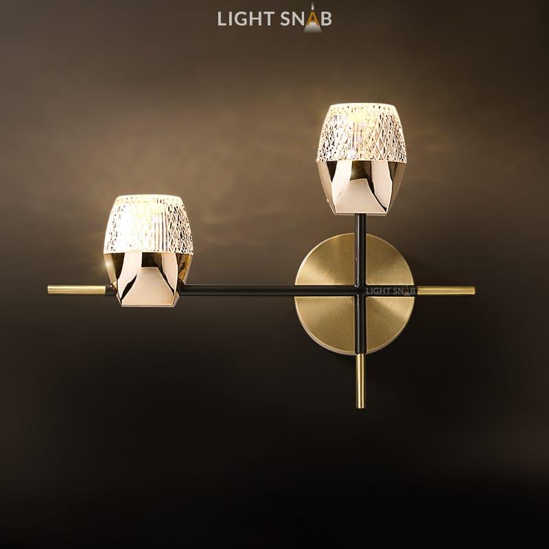 Настенный светодиодный светильник Bentina Wall 2 лампы
