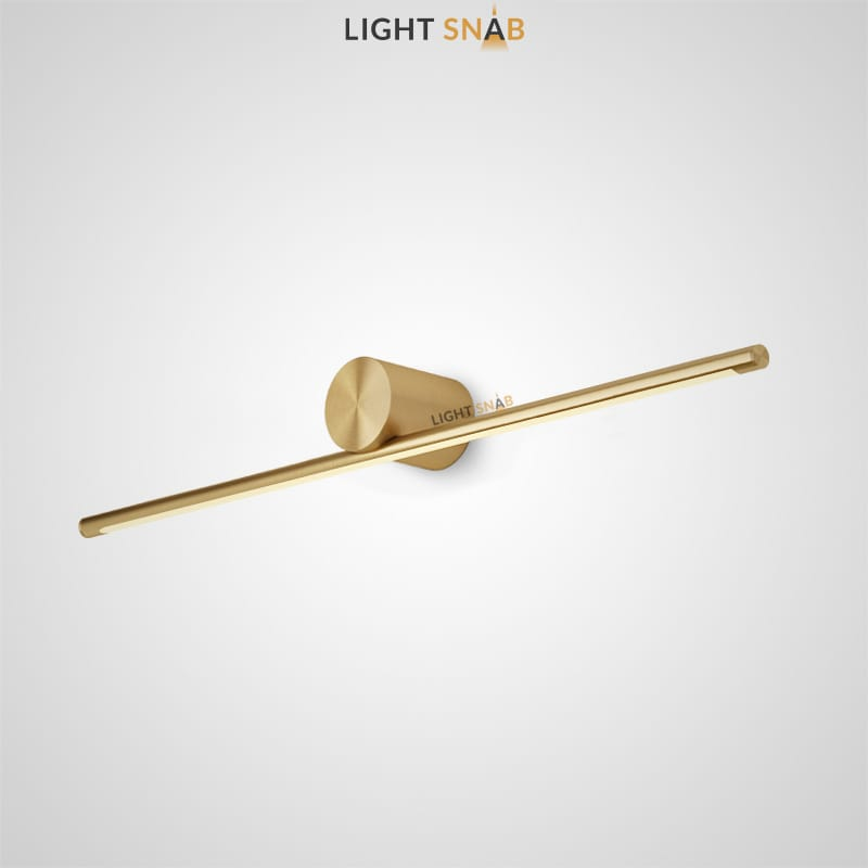 Настенный светодиодный светильник Breeze B размер L цвет латунь