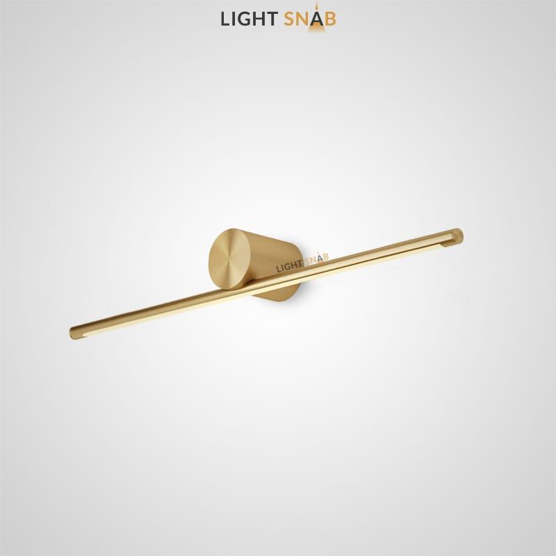 Настенный светодиодный светильник Breeze B размер M цвет латунь