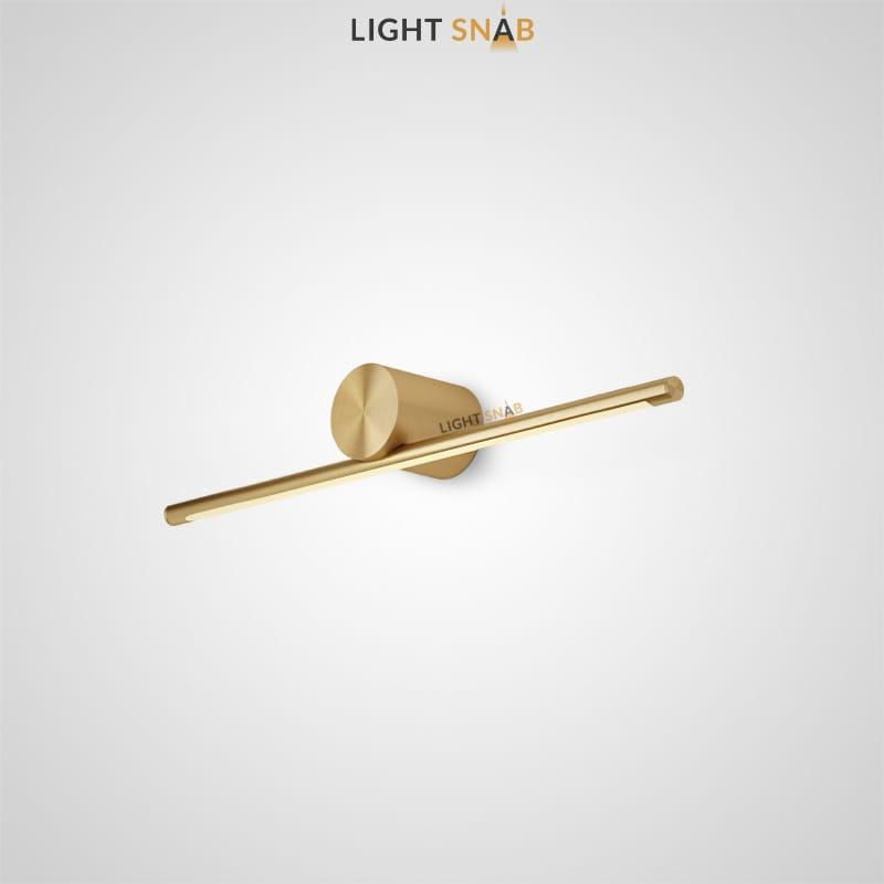Настенный светодиодный светильник Breeze B размер S цвет латунь