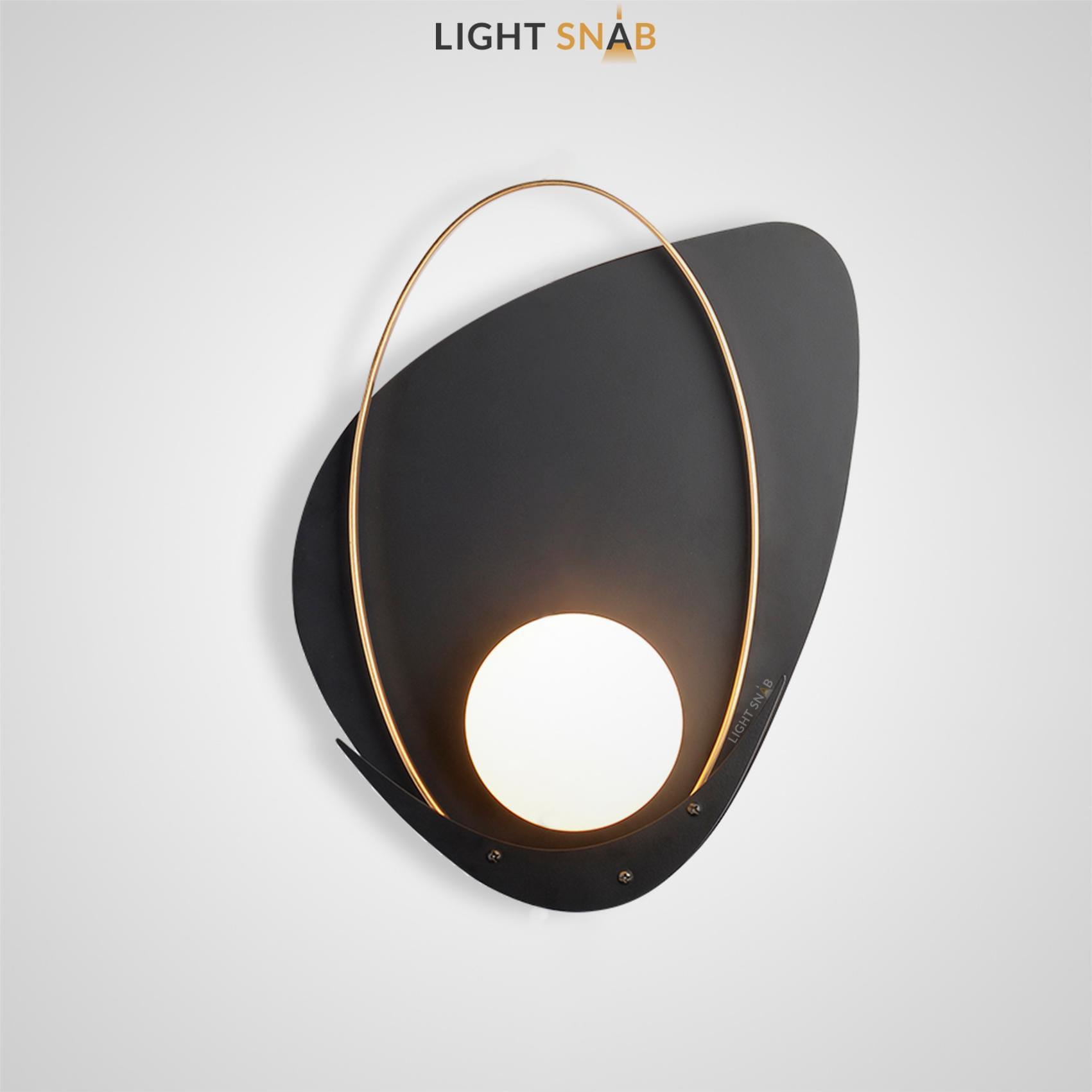 Настенный светильник Clam Flat модель A