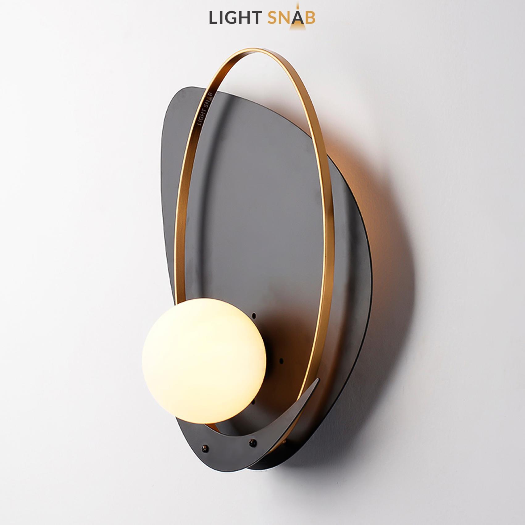 Настенный светильник Clam Flat модель B