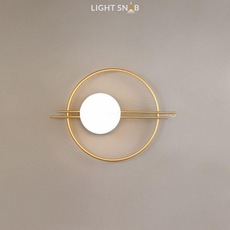 Настенный светильник Esta цвет золото
