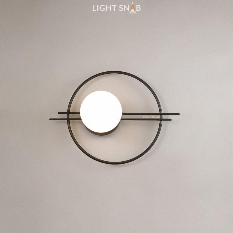 Настенный светильник Esta цвет черный