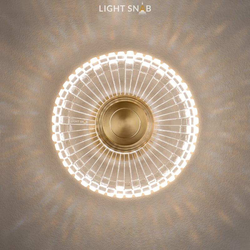 Настенный светодиодный светильник Florida Wall размер S