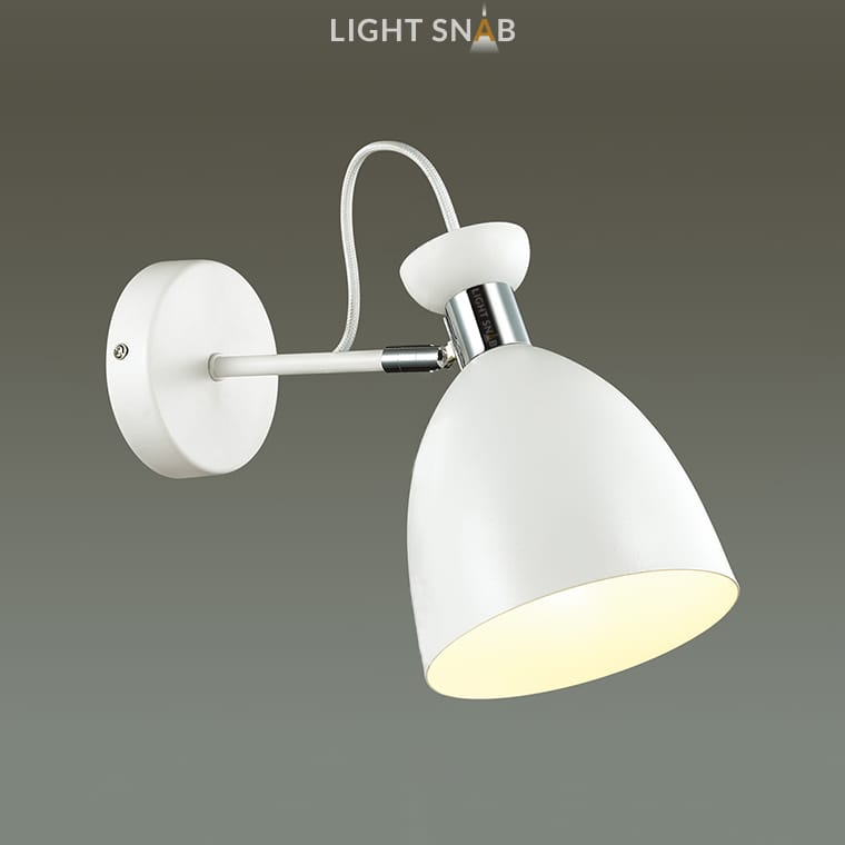 Настенный светильник Gent Wall цвет белый